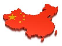 Китай Стоковое Изображение RF