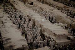 КИТАЙ, XIAN - 14-ОЕ МАРТА: Мамы Yong Пинга, терракотовая армия 14-ого марта Стоковые Фото