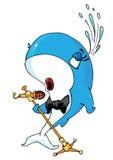 кит петь бесплатная иллюстрация