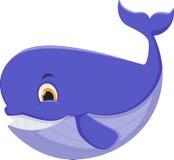 кит шаржа милый иллюстрация штока
