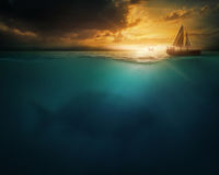 кит jonah Стоковое Фото