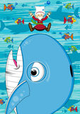 кит jonah Стоковое Изображение