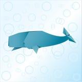 Кит Origami Стоковые Изображения