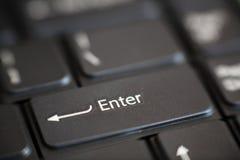 клавиатура входного ключа Стоковое Изображение RF