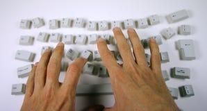 клавиатура грязная Стоковое фото RF