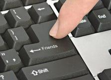 Клавиатура для друзей Стоковая Фотография