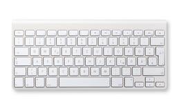 клавиатура изолированная компьютером Стоковые Фото