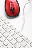 Клавиатура и мышь стоковое изображение rf
