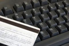 клавиатура карточки Стоковое Фото