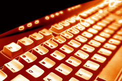клавиатура компьютера Стоковые Изображения RF
