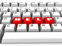 клавиатура помощи бесплатная иллюстрация