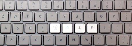 клавиатура помощи Стоковые Изображения RF