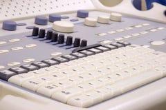 клавиатура прибора медицинская Стоковое Фото