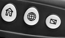 клавиатура принципиальной схемы компьютера Стоковое фото RF