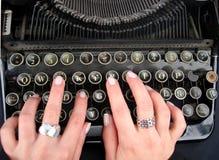 клавиатура старая Стоковые Изображения RF