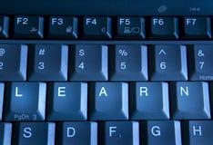 клавиатура учит Стоковое фото RF