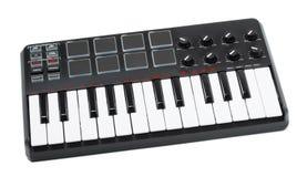 Клавиатура цифров Midi Стоковое фото RF