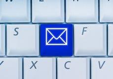 клавиатура электронной почты ключевая Стоковое Фото