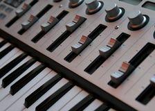 клавиатура 2 регуляторов Стоковые Фотографии RF