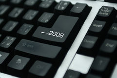 клавиатура 2009 стоковая фотография