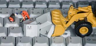 Клавиатура 9 стоковая фотография