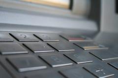клавиатура atm Стоковое Изображение