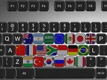 клавиатура g20 иллюстрация штока