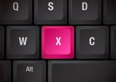 клавиатура x Стоковое Фото