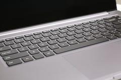 Клавиши на клавиатуре компьтер-книжки Стоковые Изображения