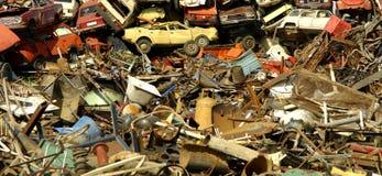 кладбище автомобиля Стоковые Фото