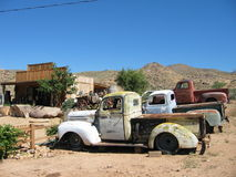 кладбище автомобиля Стоковое Изображение RF