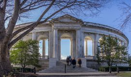 Кладбище Арлингтона национальное Стоковое Изображение RF