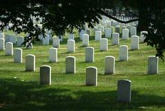 Кладбище Арлингтона национальное стоковое фото