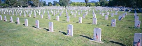 Кладбище ветеранов национальное Стоковые Фото
