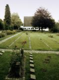 Кладбище воина Стоковые Фото