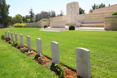 Кладбище войны Беэр-Шевы стоковая фотография