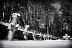 Кладбище героев в Sinaia Стоковая Фотография
