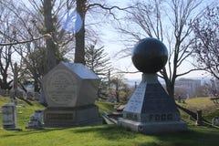 Кладбище древесной зелени в Бруклине, NY Стоковые Фотографии RF