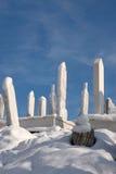 кладбище исламское Стоковое Фото