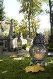 Кладбище на весь день Saintsâ - вертикальное изображение Стоковые Изображения RF