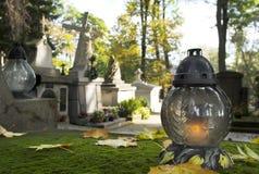 Кладбище на весь день Saintsâ Стоковые Изображения RF