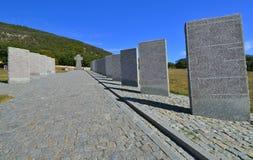 Кладбище немецких воинов в Севастопол, Ukr Стоковые Фото