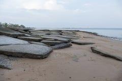Кладбище Сьюзан Hoi раковины Krabi стоковое фото rf