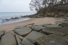 Кладбище Сьюзан Hoi раковины Krabi стоковые фото