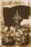 Кладбище флористического расположения Стоковое фото RF