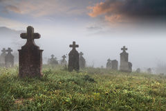Кладбище Стоковые Изображения