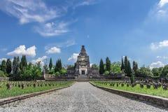 Кладбище ` Adda Crespi d Стоковые Изображения RF