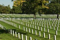 кладбище arlington Стоковое Изображение