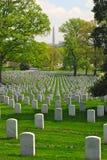 кладбище arlington Стоковое Изображение RF