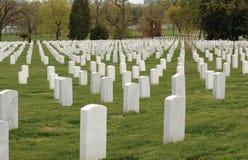 кладбище arlington стоковые фотографии rf